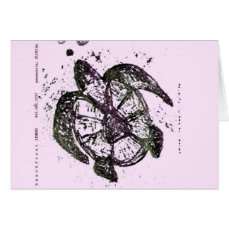 sea turtle 4 card