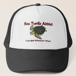 Sea Turtle Addict Trucker Hat