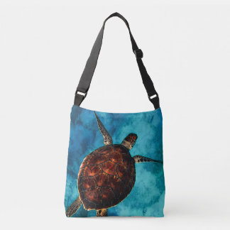 Sea Turtle Beauty Crossbody Bag
