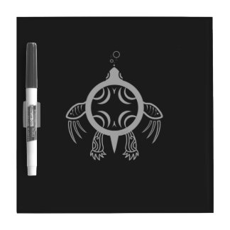 Sea Turtle Bubbles Dry Erase Board