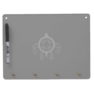 Sea Turtle Bubbles Dry Erase Board With Key Ring Holder
