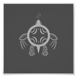 Sea Turtle Bubbles Photo Print