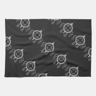 Sea Turtle Bubbles Tea Towel