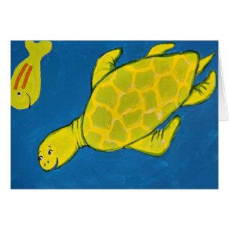 Sea Turtle Card
