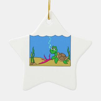 Sea Turtle Christmas Tree Ornaments