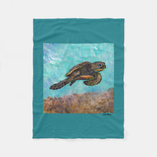 Sea Turtle Cozy Blanket