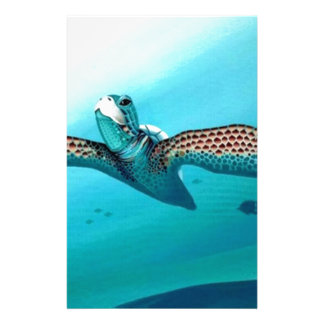 Sea Turtle Custom Stationery