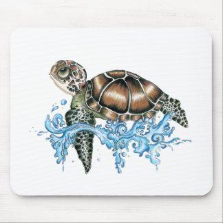 sea turtle design mouse pad