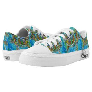 Sea Turtle Design Sneakers