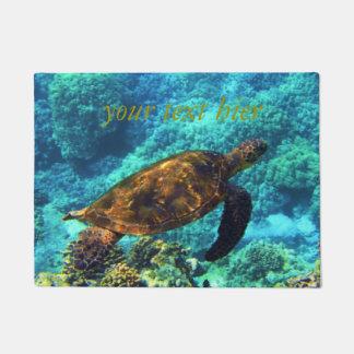 sea turtle doormat