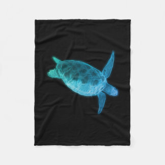 Sea Turtle Fleece Blanket
