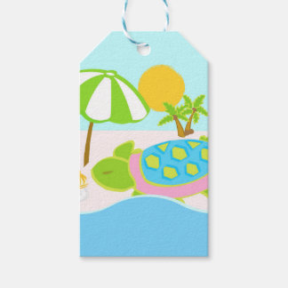Sea Turtle Gift Wrapping Gift Tags