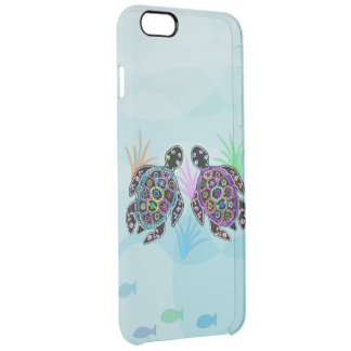 Sea Turtle Glow Clear iPhone 6 Plus Case