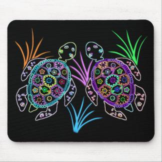 Sea Turtle Glow Mouse Pad
