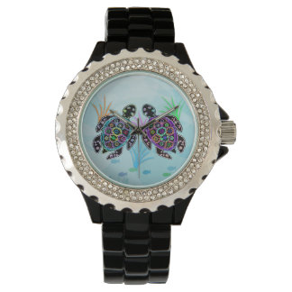 Sea Turtle Glow Wrist Watches
