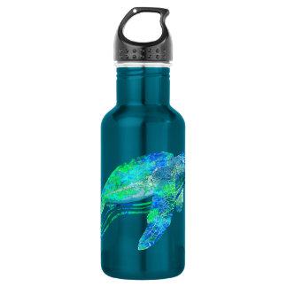 Sea Turtle Graphic 532 Ml Water Bottle