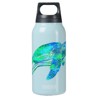 Sea Turtle Graphic Insulated Water Bottle