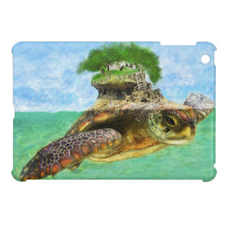 sea turtle island  ipad mini case