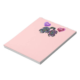 Sea Turtle Love Song Notepad