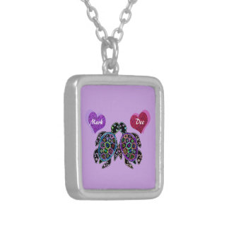 Sea Turtle Love Song Silver Plated Necklace