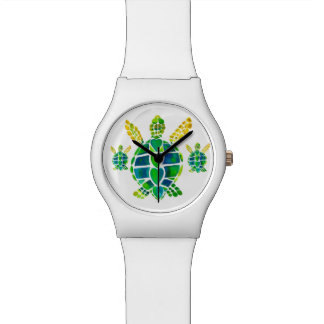 Sea Turtle Love Wrist Watches