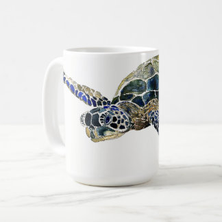 Sea Turtle Ocean Sea Aquatic Animal Art Mug