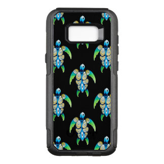 Sea Turtle On Black OtterBox Commuter Samsung Galaxy S8+ Case