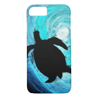 Sea Turtle Silhouette (Kimberly Turnbull Art) iPhone 8/7 Case
