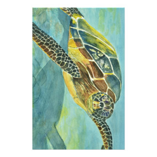 Sea Turtle Stationery