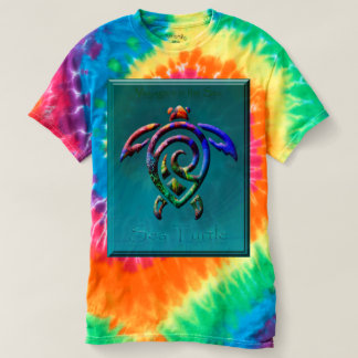 Sea Turtle voyager t dye shirt