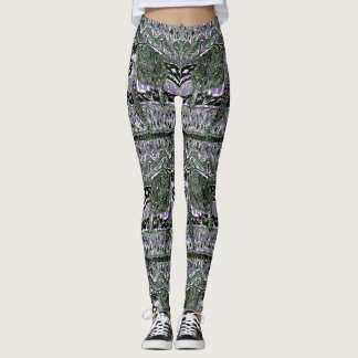 Sea Turtle Wave Pattern Leggings