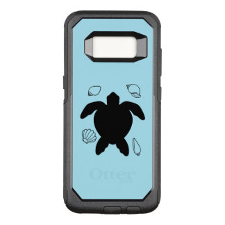 Sea Turtle with Sea Shells OtterBox Commuter Samsung Galaxy S8 Case