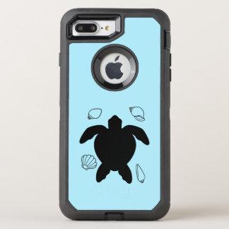 Sea Turtle with Sea Shells OtterBox Defender iPhone 8 Plus/7 Plus Case