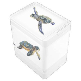 Sea Turtles Animals Ocean Wildlife Can Cooler