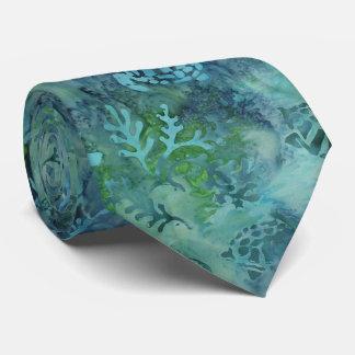 Sea Turtles Batik Tie