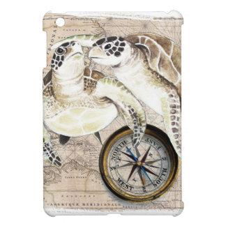 Sea Turtles Compass Map Case For The iPad Mini