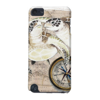 Sea Turtles Compass Map iPod Touch (5th Generation) Case
