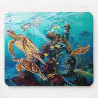 Sea Turtles Mouse Pad