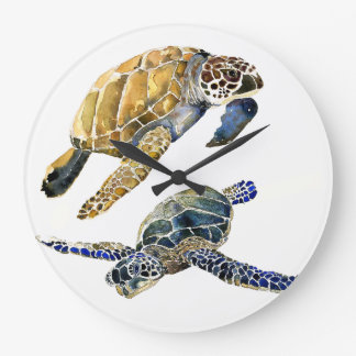 Sea Turtles Ocean Animals Wildlife Wall Clock