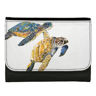 Sea Turtles Ocean Wildlife Animals Wallet