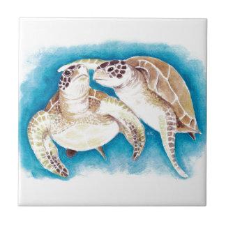 Sea Turtles Tile