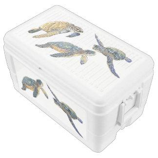 Sea Turtles Wildlife Animals Ocean Chest Cooler