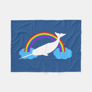 Sea Unicorn Fleece Blanket