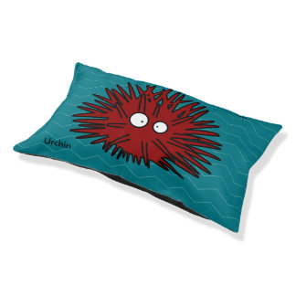 Sea Urchin Uni Spiny Red Hedgehog Ocean Pet Bed