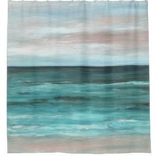 Sea View 265 ocean beach Shower Curtain