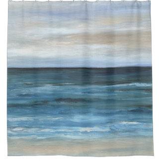 Sea View 266 ocean beach Shower Curtain