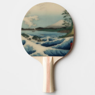 Sea view from Satta Point Ping Pong Paddle