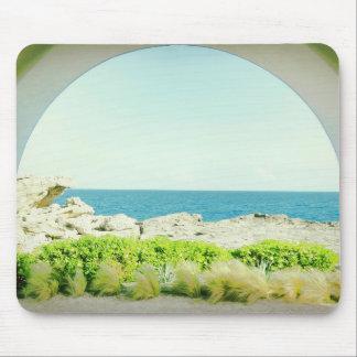 Sea view Mouse Pad