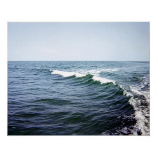 Sea Water Print on Canvas