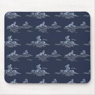 Sea Waves Mouse Pad